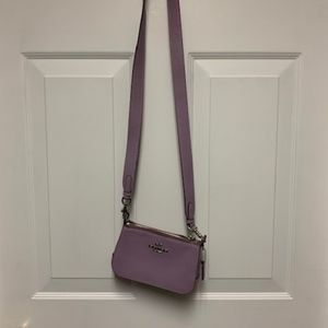Coach Cross Body Bag - Lavender